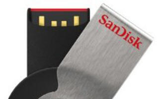 SanDisk Launches Cruzer Orbit USB Flash Drive