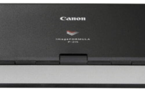 Canon ImageFormula P-215 - Easy Scanning On-the-Go