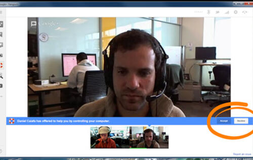 Google+ Hangouts Adds Remote Desktop App