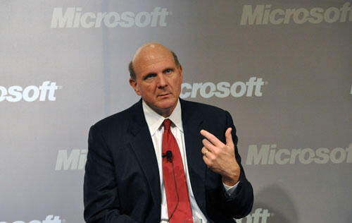 A Chat With Steve Ballmer - Microsoft 2010 Office Launch