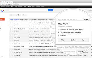 Gmail Now Allows Users to Take Action Right from the Inbox
