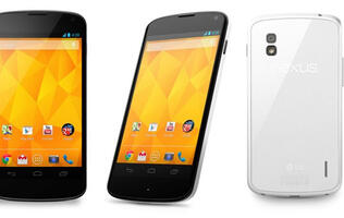 White Nexus 4 Spotted (Updated: Coming in June)