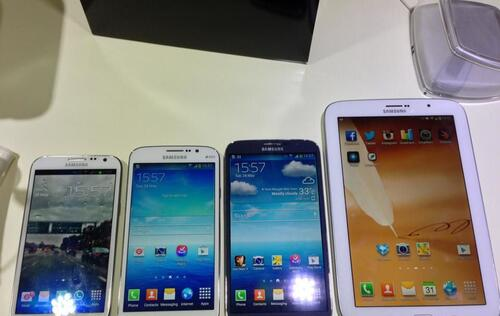 Samsung Galaxy Mega Devices Available in Singapore from Early June
