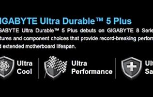 Gigabyte Launches Intel 8 Series Motherboards