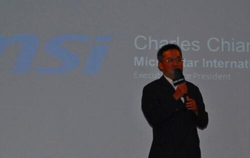 Interview with MSI Corporate Executive VP, Mr. Charles Chiang