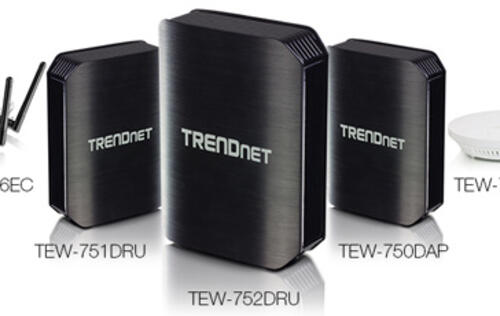 TRENDnet Expands Wireless N600 Product Line
