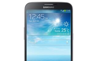 Samsung Galaxy Mega with LTE - A Phone Fit for Giants