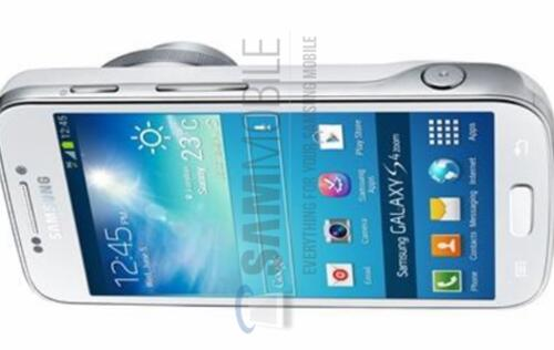 Images of Samsung Galaxy S4 Zoom Leaked