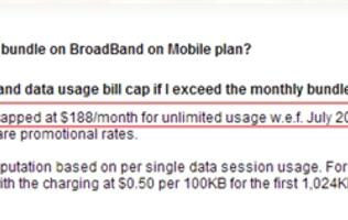 SingTel Revising Excess Data Charges for BroadBand on Mobile Plans from July (Update)