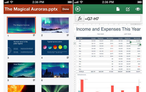 Microsoft Rolls Out Office Mobile for iPhone