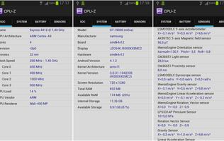 CPUID Releases CPU-Z for Android on Google Play