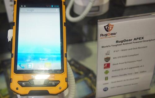 RugGear Debuts World's Toughest Android Smartphones at CommunicAsia 2013
