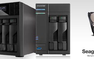 ASUStor Announces Compatibility with New Seagate NAS HDDs