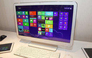 Samsung ATIV Expands Into AIO Territory with Samsung ATIV One 5 Style PC