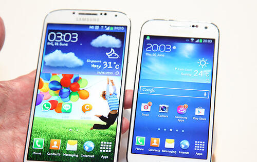 Hands-on: Samsung Galaxy S4 mini