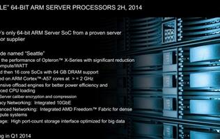 AMD Unveils First ARM-based Server Processor, Codenamed 'Seattle'