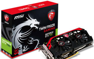 MSI Flaunts GeForce GTX 780 Gaming for Exceptional Gaming Performance