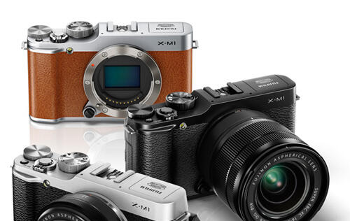 Fujifilm Announces Entry-level X-M1 Mirrorless Camera & Two New Lenses (Updated)
