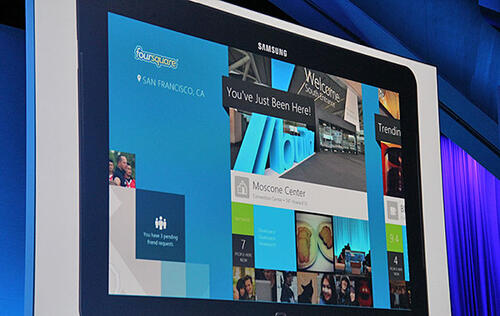 Foursquare Develops First Native Tablet App for Windows 8; Windows Store Nears 100,000 Apps