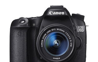 Canon's New 70D DSLR Camera Comes with New Dual Pixel Auto-focus Technology (Updated: Price)