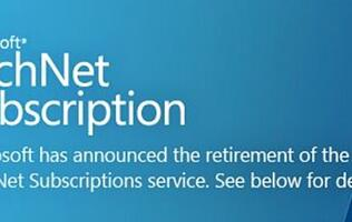 Microsoft to Discontinue TechNet Subscription Service