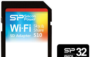 SP Introduces Sky Share S10 Wi-Fi SD Card