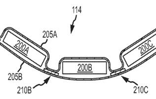 Apple Patents Design for Flexible Batteries
