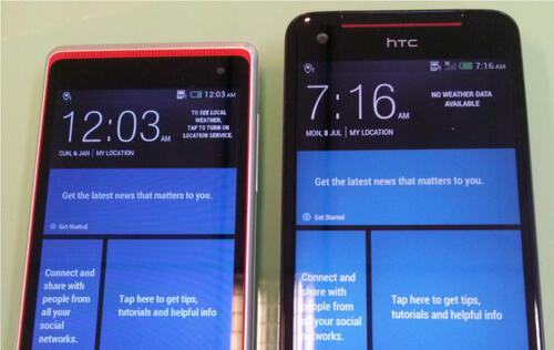 HTC Butterfly S & HTC Desire 600 Dual SIM Smartphones Unveiled