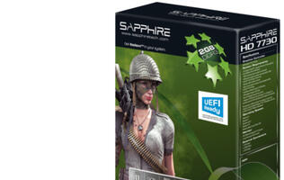 Sapphire Expands Its HD 7700 Series with Two New HD 7730 Models