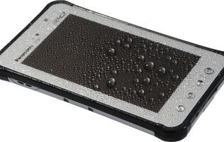 Tough Luck - Why Panasonic Isn't Scared of Waterproof Tablets