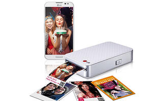 LG Launches New Pocket Photo Smart Mobile Printer