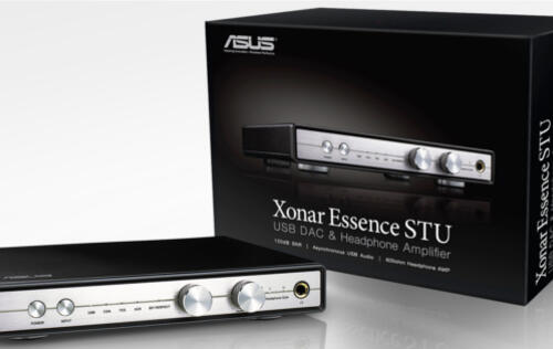 ASUS Xonar Essence STU USB DAC and Headphone Amplifier Launched