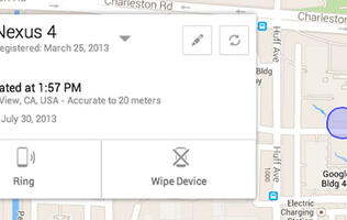 Android Device Manager Helps Find Your Lost Phone