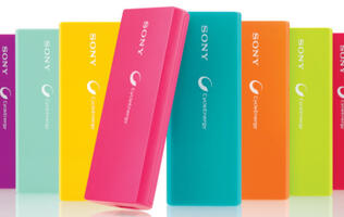 Sony Announces USB Portable Charger
