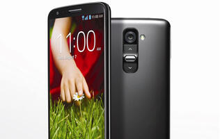 LG G2 Flagship Smartphone Features Controls on the Rear