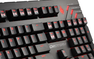 Cooler Master Struts QuickFire Ultimate Mechanical Gaming Keyboard