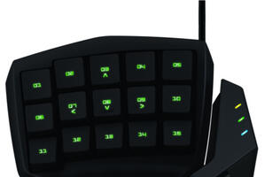 Razer Tartarus Membrane Gaming Keypad Launched
