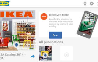 IKEA Rolling Out Its 2014 Catalogue App with AR Feature