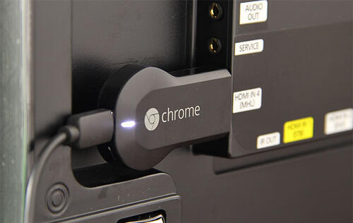 Google Chromecast - A Tiny, Affordable HDMI Media Streaming Dongle