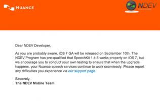 iOS 7 Could Be Released on September 10