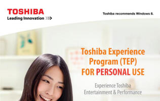 Toshiba to Allow Trial of Notebooks and Tablets Before Purchase