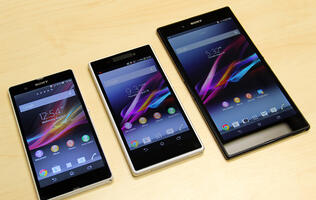 Hands-on with the Sony Xperia Z1, the New Flagship with a 20MP Camera