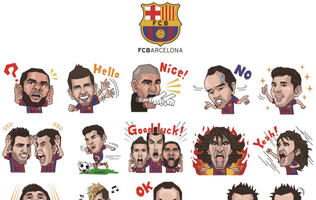 LINE Collaborates with FC Barcelona & Real Madrid C.F. to Launch Official Accounts and Team Stickers!