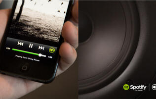 Spotify Connect Lets You Hook Up to Speakers