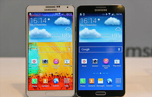Hands-on: Samsung Galaxy Note 3