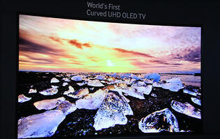 Samsung Shows Off Its 4K OLED TV Prototypes at IFA 2013