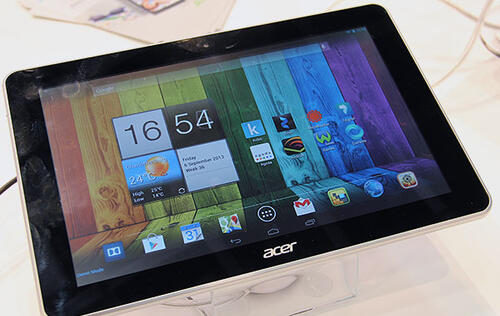 Acer Showcases Mobile Devices at IFA 2013, Including the 4K Video-Capable Liquid S2 (Update: Hand-on Photos)