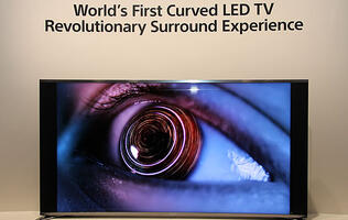 Sony Shows Off 65-inch Curved LED TV at IFA 2013