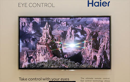 Haier's Eye-Controlled TV is Now More Accurate, But Still Not Ready for Sale