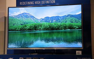 Panasonic's 65-inch 4K UHDTV is Ready for HDMI 2.0; 55-inch OLED Panel Spotted Again at IFA 2013